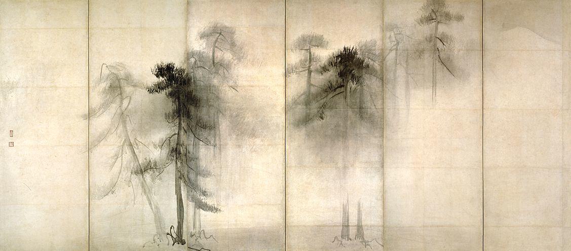東博_松林図屏風(左隻)LL_C0028019.X1
